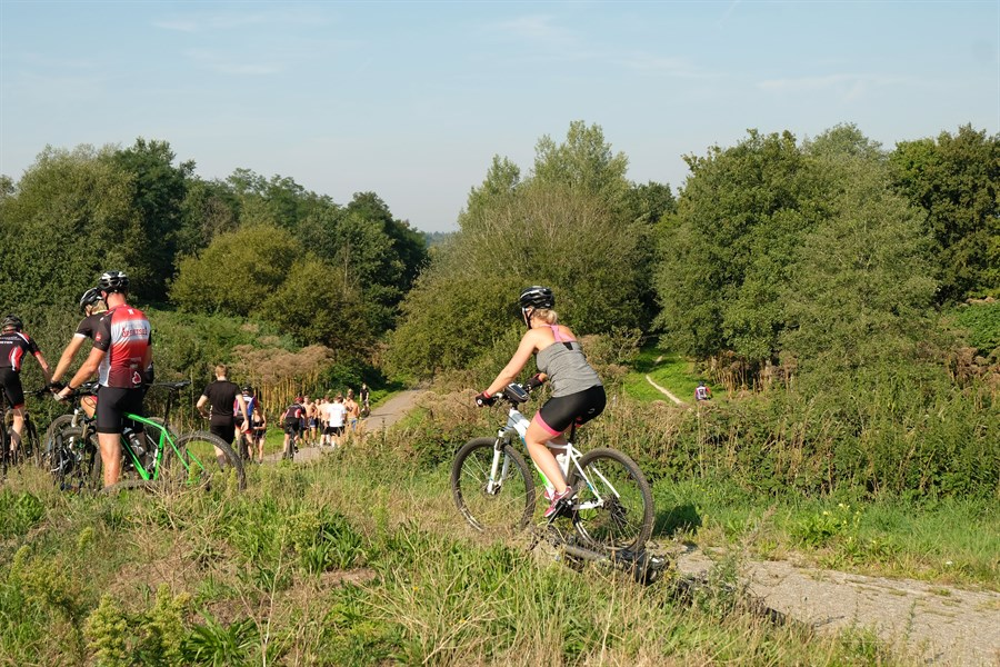 Bos, Water & Zand Rondomme ATB toertocht 2021